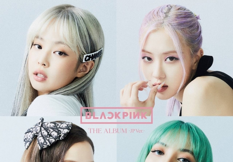 Blackpink lands atop Oricon chart with 1st LP