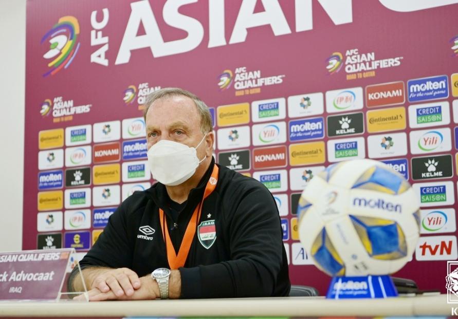Iraq coach praises S. Korean football's growth, vows tough fight in World Cup qualifier
