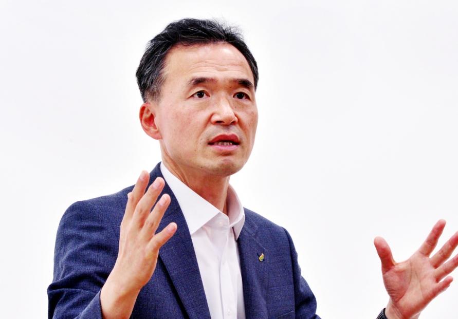 [Herald Interview] Basic income a key policy: Yeoju mayor