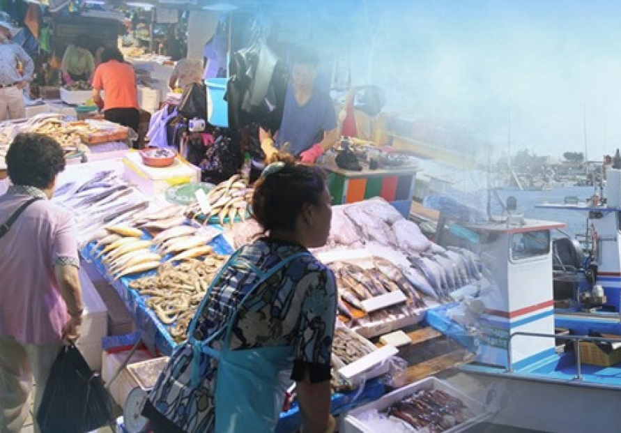 Fishery good exports up 18% through Aug.