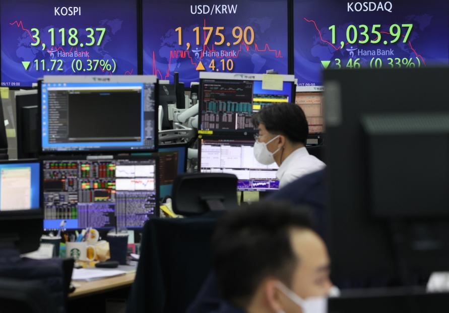 Seoul stocks open lower as investors test waters