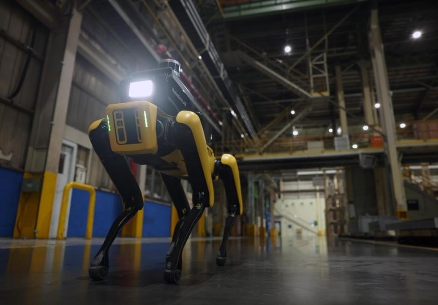 Hyundai Motor deploys Boston Dynamics' Spot robot at factory