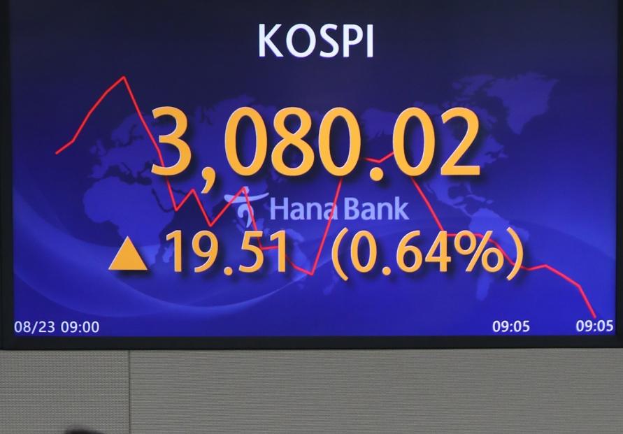 Seoul stocks open higher as China Evergrande fears ease