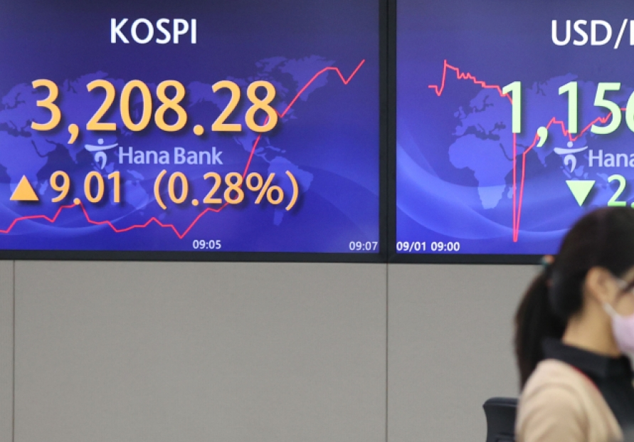 Seoul stocks down for 2nd day amid virus woes, Evergrande uncertainties