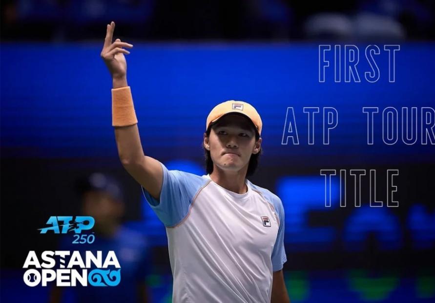 Kwon Soon-woo captures maiden ATP title, 1st S. Korean winner in 18 years