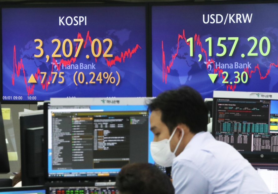 Seoul stocks up on drop in virus cases
