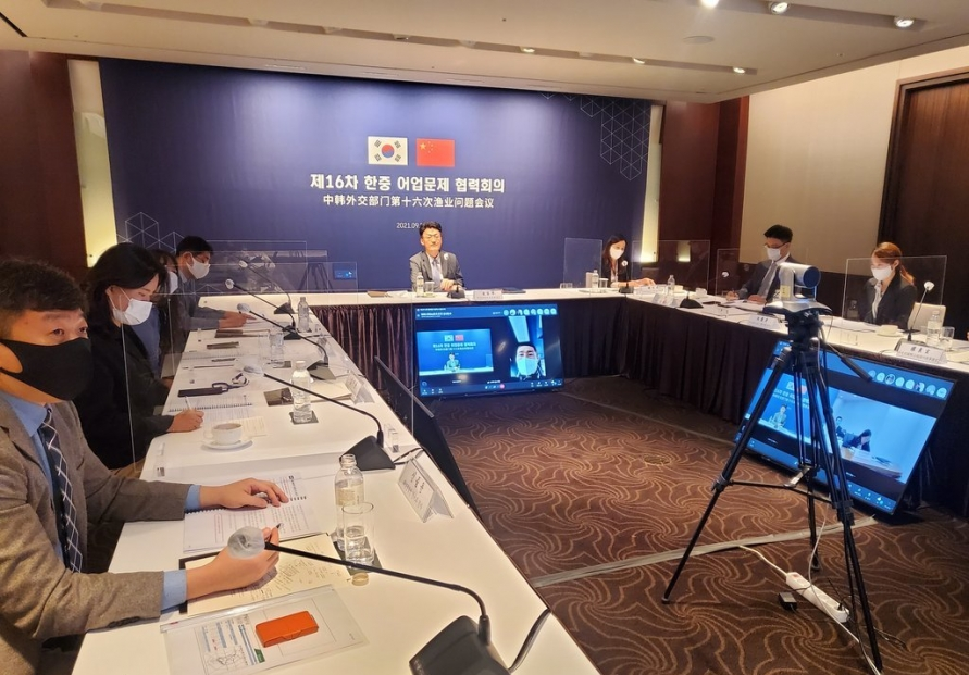 S. Korea, China discuss measures to stamp out illegal fishing