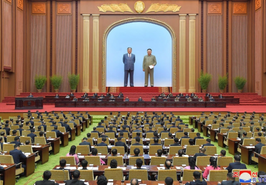 N.Korea convenes Supreme People's Assembly meeting without leader Kim, message toward S. Korea