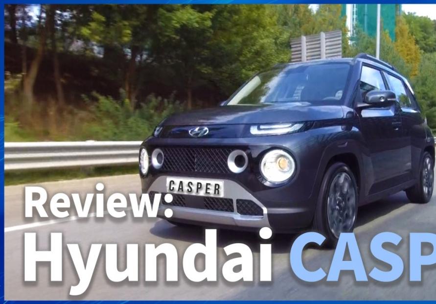 [Video] Hyundai's mini SUV Casper creates buzz