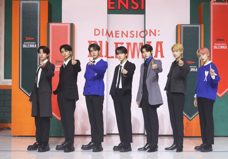 Enhypen aims for the top with 'Dimension: Dilemma'