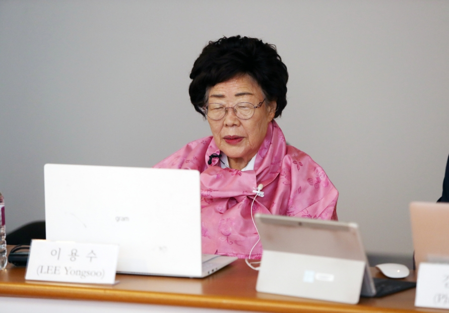 'Comfort woman' calls on Seoul to bring case to UN body