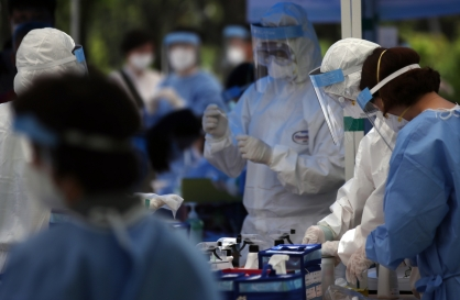 S. Korea to tighten quarantine rules despite drop in new infection cases