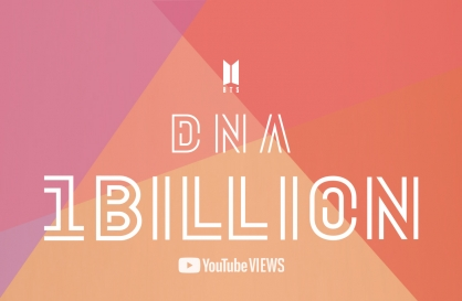 BTS' 'DNA' music video tops 1b YouTube views