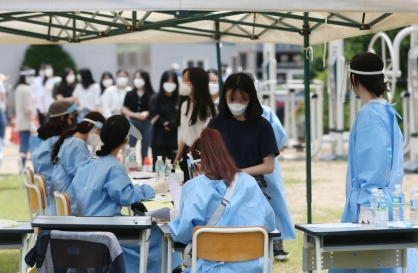 S. Korea reports 57 new virus cases, above 50 for 2nd consecutive day
