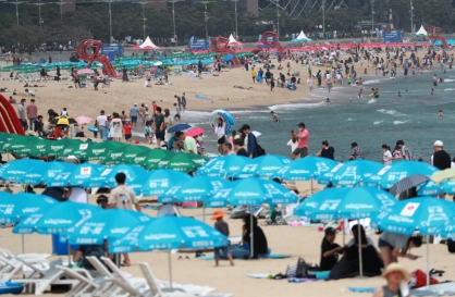 Masks to be mandatory on Busan's Haeundae Beach