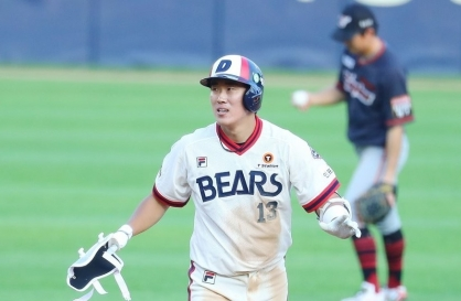 Doosan Bears infielder Hur Kyoung-min voted KBO's top player for July