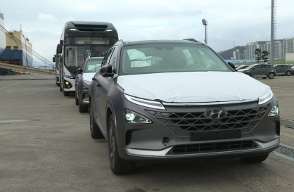 Hyundai Motor exports hydrogen vehicles to Middle East for first time