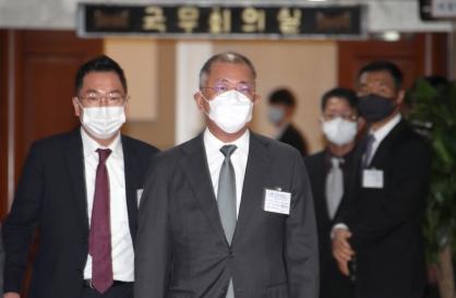 Hyundai chairman's first stop: Hydrogen 365bet体育备用网