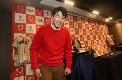 Cardinals' Kim Kwang-hyun sees room for improvement despite strong rookie campaign
