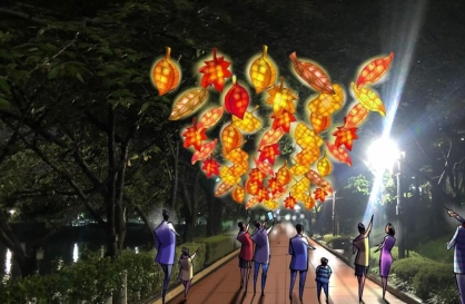 Seoul Lantern Festival kicks off at new venues amid pandemic