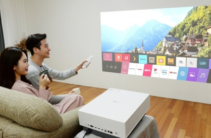 LG releases new 4K projector amid pandemic