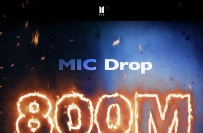 'MIC Drop' becomes 4th BTS music video to hit 800m views