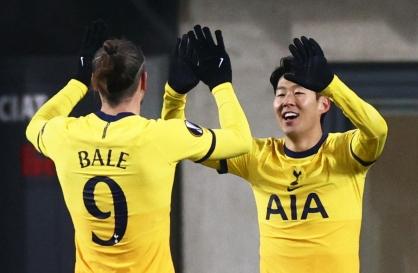 Son Heung-min scores, helps Tottenham reach Europa League knockouts