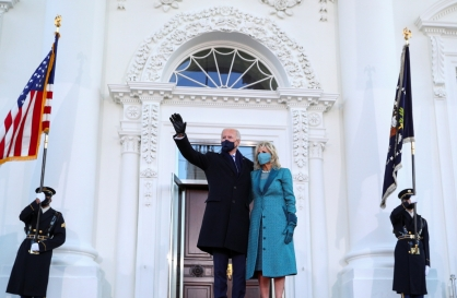 Biden takes office as 46th president of the US