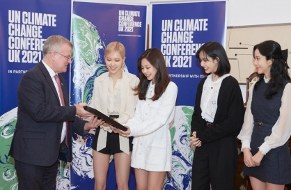 BLACKPINK tapped as advocates for UN climate action campaign