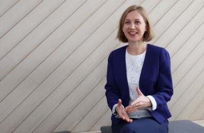 [Herald Interview] 'Women in leadership should be new normal'