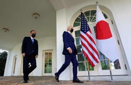 Biden-Suga summit leaves Moon with few options