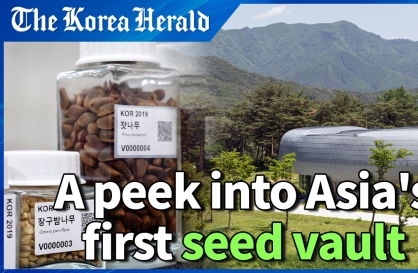 Inside Asia's first underground seed vault