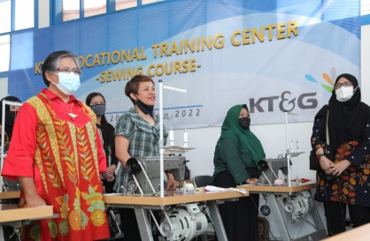 KT&G expands social outreach in Indonesia