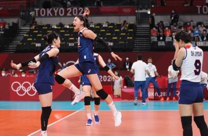 [Tokyo Olympics] S. Korea shocks Turkey to reach semifinals in women's volleyball