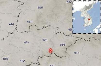 2.4 magnitude quake hits S. Korea's central region: KMA