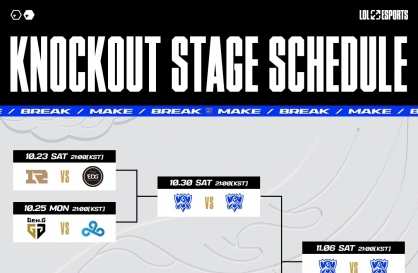All Korean teams to play in LoL World Championships quarterfinals