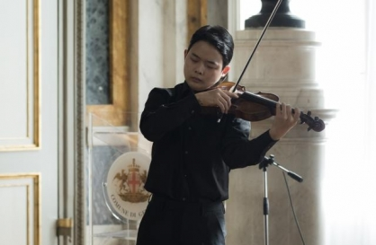 Violinist Chung Nu-rie wins 2nd prize at Paganini Competition