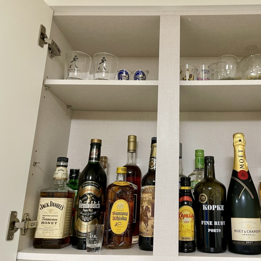 Domestic bliss: Distancing brings happy hour home