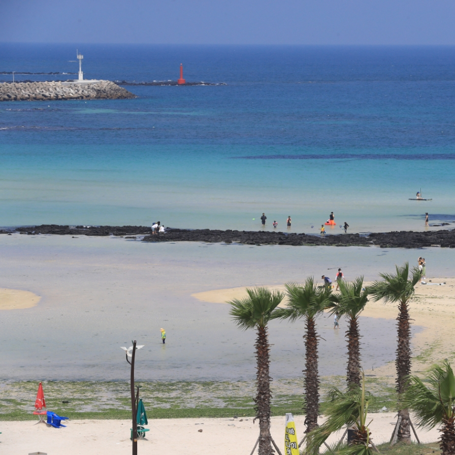 Beaches officially open on Jeju Island