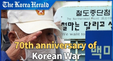 Korean War veterans wish for the end of war and lasting peace