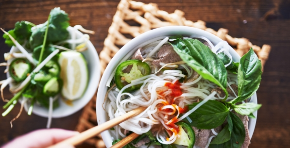 A culinary journey to Asian neighbors