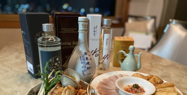 Tired of green-bottle rotgut, drinkers turn to traditional soju