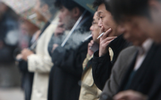 Smoking rate in S. Korea down in 2010