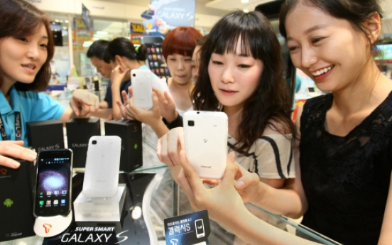 Samsung ships more than 10 mln Galaxy S phones in 7 months