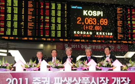 Seoul shares rally to record high