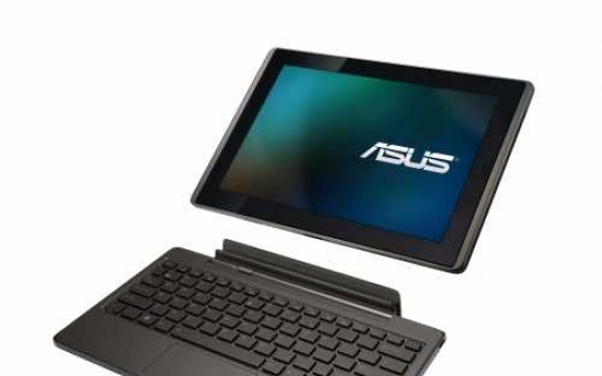 Asus hopes tablet variety will lure fans