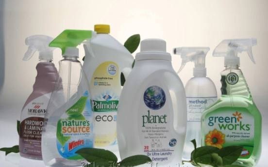 More producers make green cleaning solutions