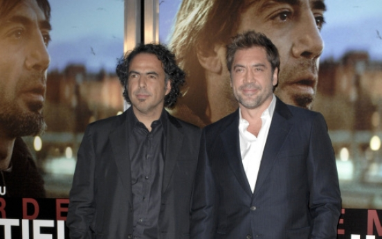 Dark is just 'Biutiful' to Inarritu and Bardem
