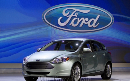 Ford's Focus Electric takes on rivals