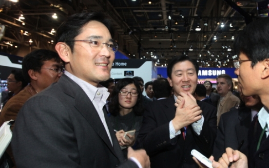 Samsung heir supports father's pledge on change